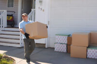 From 40/hr - MOVERS - With OR Without a Truck - 403-384-9290