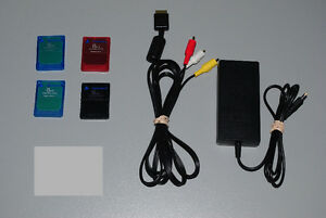Sony Playstation 2 PS2 Accessories Memory Cards, Cables
