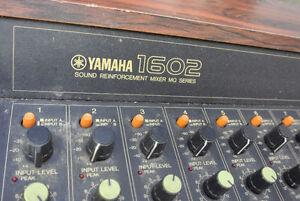 Yamaha 1602 Reinforcement mixer MQ series - Work great!