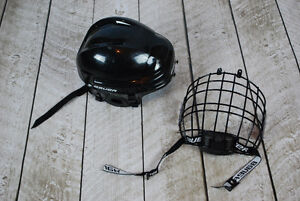 SOLD PPU  Hockey Helmet with cage