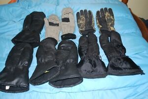 WARM GLOVES and CLOTHES