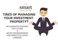 TIRED OF MANAGING YOUR INVESTMENT PROPERTY? WE GUARANTEE YOUR RENT FOR 3- 5 YEARS