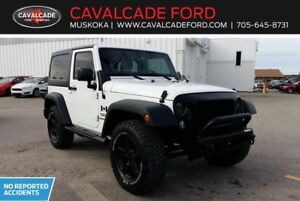 2015 Jeep Wrangler Sport with aftermarket lights and bull-bar!!