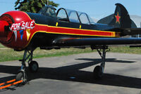 1982 Russian Yak 52 Warbird For Sale - Fully Aerobatic
