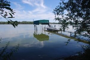 Two lake lots with house for sale. PRICE REDUCED!