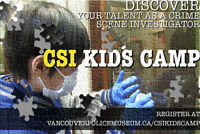 CSI Camp at the Vancouver Police Museum