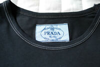 PRADA -  Navy Blue Fitted T-Shirt (NEW)