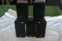BOSE 5 DOUBLE CUBE SPEAKERS: $ 350.00
