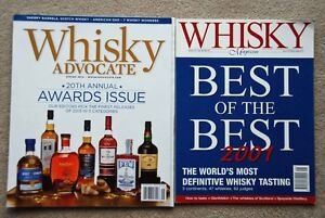 2 Whisky Magazines 2014/ 2001 both for $2 or $1.50 each
