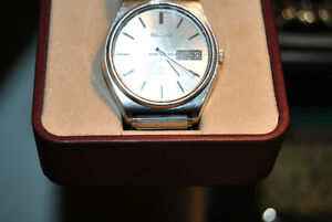 SEIKO 5 Vintage Gents Watch Automatic Day  Date