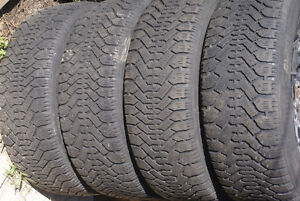 Winter tires and rims 225x60xR16 London Ontario image 1