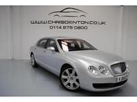 2006 BENTLEY CONTINENTAL FLYING SPUR 6.0 AUTO, FULL BENTLEY DEALER HISTORY