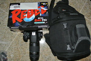 Canon EOS Rebel T5i DSLR Camera with 75-300mm Lens