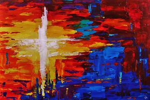 """""""Firefly"""" - New Original Abstract Painting London Ontario image 1"""