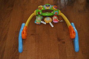 Playskool GloWorld Convertible Back to Belly Music and Light Toy