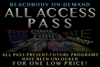 ANNUAL ALL ACCESS BEACHBODY ON DEMAND MEMBERSHIP - LIMITED TIME!