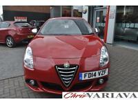 2014 Alfa Romeo Giulietta 1.6 JTDM-2 Distinctive 5dr Diesel red Manual