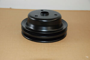 Factory GM 2 groove crank pulley