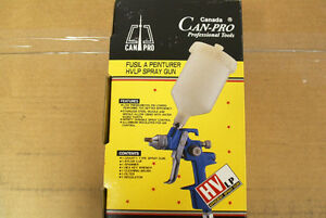 HVLP Spray Gun by Canada CanPro Prof.Tools  (MOVING MUST SELL)