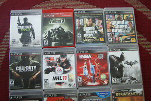Two PS3 three controllers and 25 games West Island Greater Montréal image 3