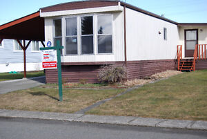 Nicest Mobile Home with huge lot! - Just $94,400.00!