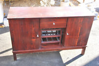 Wood Buffet / Credenza for sale