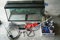 Fluval 29 gallon tank with everything you need to start and more