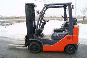 CHARIOT ELEVATEUR,FORKLIFT,PROP ,S/S, TOYOTA 8FGU20  Propane