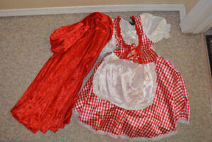 Red Riding Costume Size ⅚