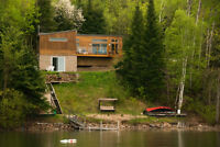 Cottage or year round home with 150 feet of waterfront