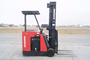 FORKLIFT,CHARIOT ELEVATEUR,SIDESHIFT,ELECT, RAYMOND RC30-C30TT