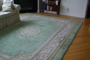 Beaux grands tapis de laine