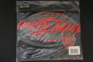 New Darth Maul T Shirt XL  New in Sealed Package Star Wars