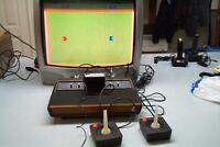 Vieille Console de jeux ATARI fonctionnel avec 12 jeux