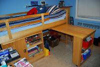 Lit mezzanine simple pour enfant