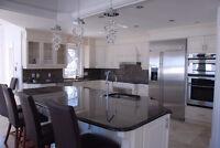 Granite & Quartz counter top installer