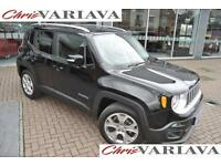 2015 Jeep Renegade LIMITED Electric Seats Petrol black Manual
