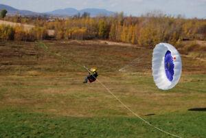 2 parachutes de secours de parapente Lara 175