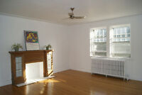 Spacious and sunny 4 1/2 in NDG near Monkland village