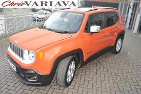 2015 Jeep Renegade M-JET LIMITED Diesel orange Manual