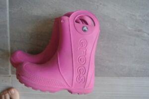 Crocs rain boots size 11