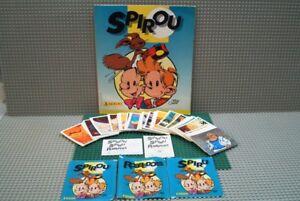 Panini serie complete de Spirou & Fantasio auto-collants + album