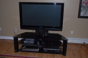 48 inch Samsung tv with stand and surround sound