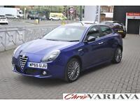 2015 Alfa Romeo Giulietta 2.0 JTDM-2 Collezione 5dr Diesel blue Manual