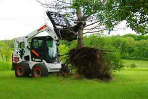 Jenkins HEAVY DUTY Tree Puller Skidsteer Attachment Moose Jaw Regina Area image 3