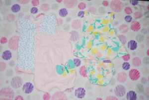 Bag of Baby / Infant Clothes Girl - size 3 months