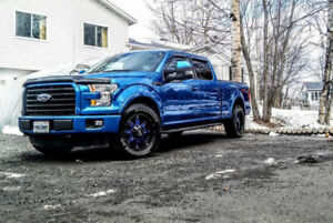 Roues (Mags) Ford F150 années 2014-2019  grandeurs   17-18-20