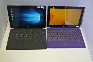 MS Surface Pro 128 GB / RT 1st gen 64 GB windows 8.1 RT
