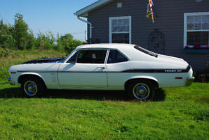1969 Chevy Nova SS          $25,000 or  Reasonable offer