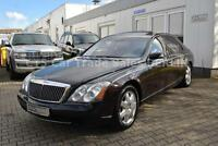Maybach  57 schwarz/bordeaux Solardach